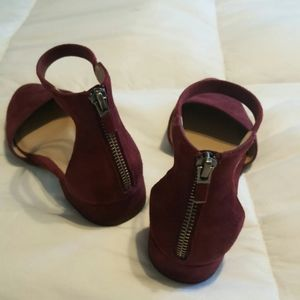 Eileen Fisher Shoes - Eileen Fisher Hutton plum suede size 5.5